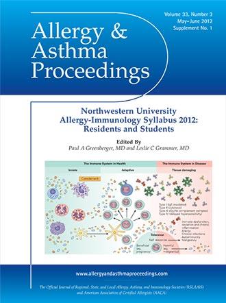 Allergy-Immunology Syllabus 2012